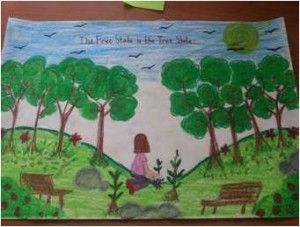 2014 Arbor Day First Place Poster Winner