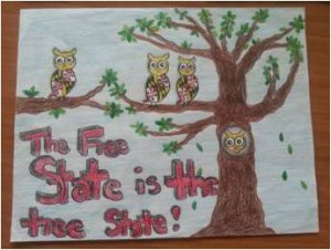 2014 Arbor Day Poster Contest Second Place Winner