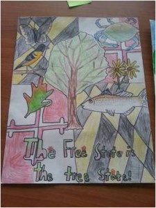 2014 Arbor Day Poster Contest Third Place Winner