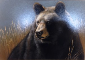 Winner: Guardian Black Bear by Rebecca Latham of Hastings, MN