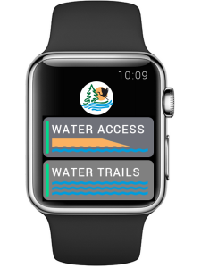 AccessDNR home screen for Apple Watch