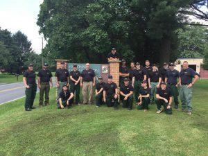 Photo of wildfire crew