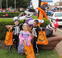 Trick or Treat on the Square