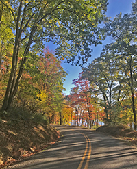 Garrett County Country Road, Photo by Roy Musselwhite