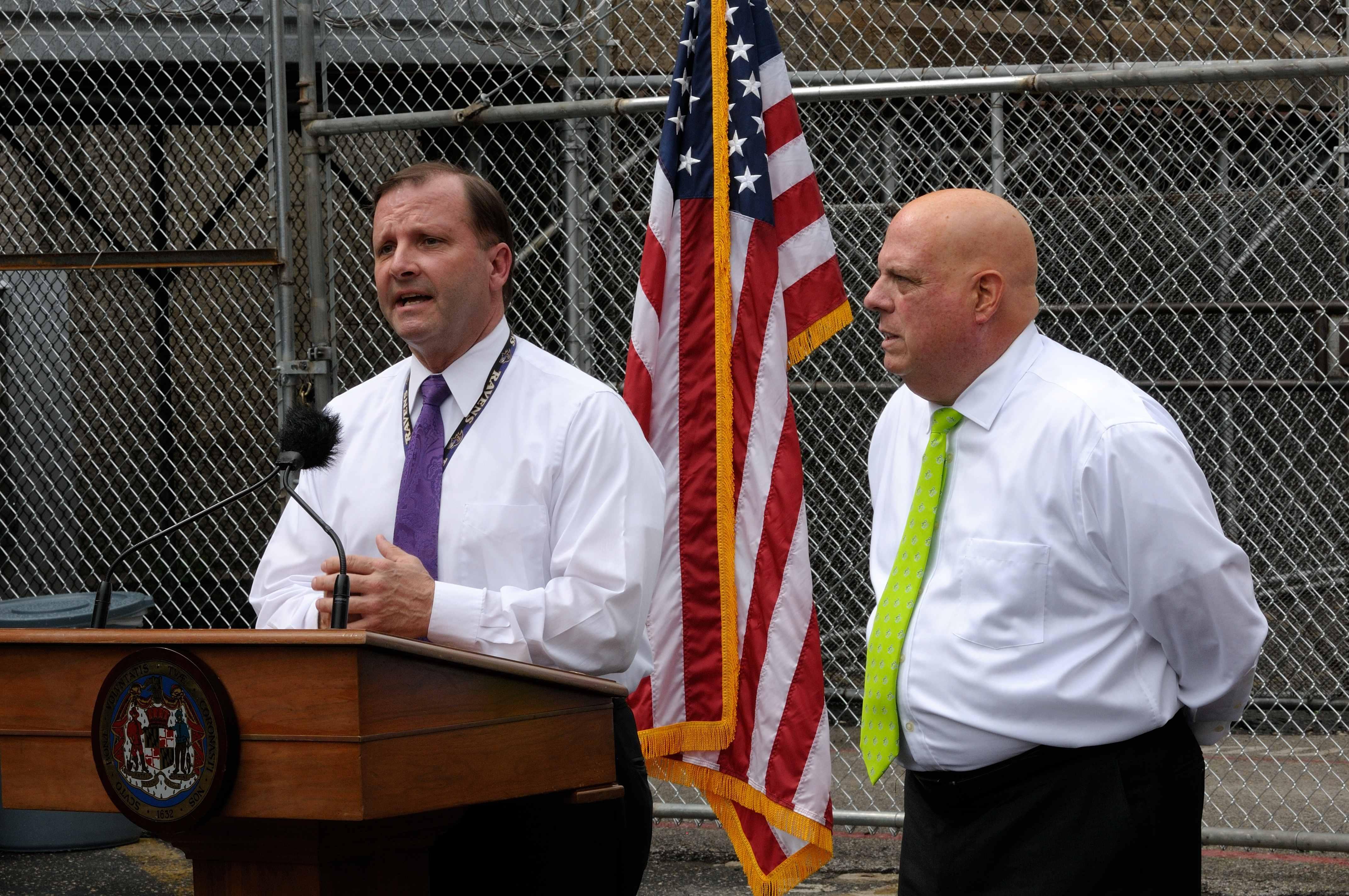 Governor Larry Hogan announces closure of Baltimore City Detention ...