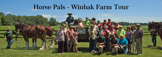 Winbak Farm Tour