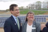 Ben Grumbles and Julie Pippel