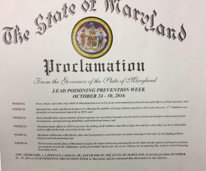 Lead proclamation