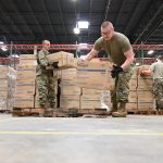 Maryland Guard distributes more than 1 million medical items