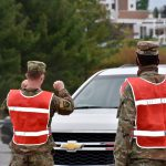 Maryland military police support COVID-19 test site in Carroll County