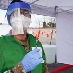 St. Mary's Receives Guard's Help in Vaccinating Fellow Citizens