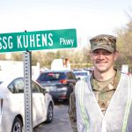 Streets Named After Soldiers at Vaccination Site