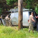 MDNG Soldiers Lend Helping Hands After Car Crash in Huntingtown