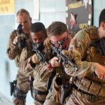 Security Forces Airmen Schooled at Local High School