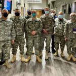 Maryland Defense Force Volunteers Assist with Veterans' Vaccinations