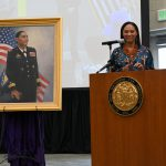 Retired Maj. Gen. Linda Singh's Portrait Unveiling