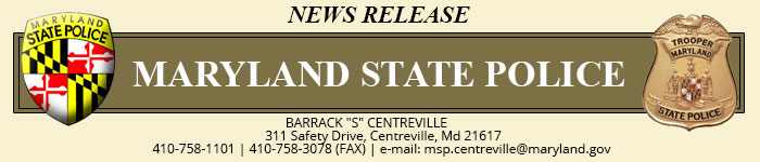 Maryland State Police News Release